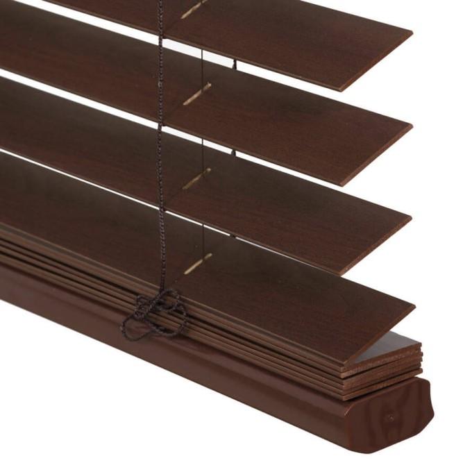 Stores en bois de luxe de 2 po 8066