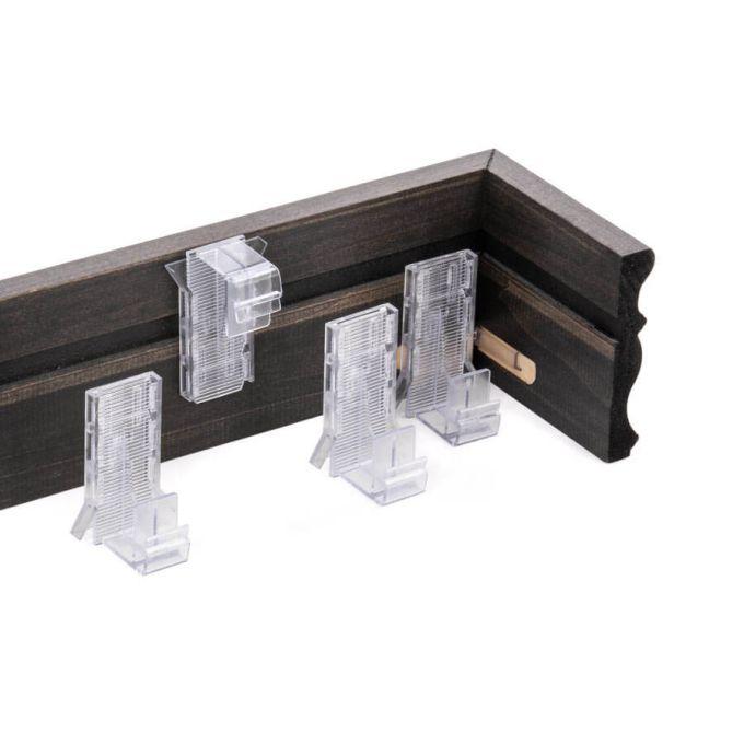 Stores en bois décorateur de 2 po 8714