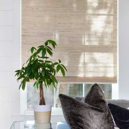 Stores en bois tissé/bambou décorateur 8601 Thumbnail