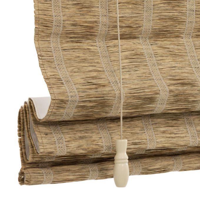 Stores en bois tissé/bambou décorateur 8789