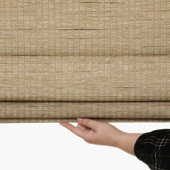 Stores en bois tissé/bambou décorateur 7093