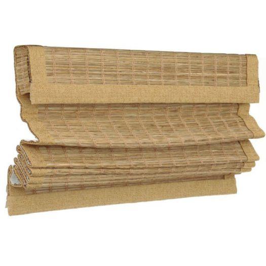 Stores en bois tissé îles décorateur 7566 Thumbnail