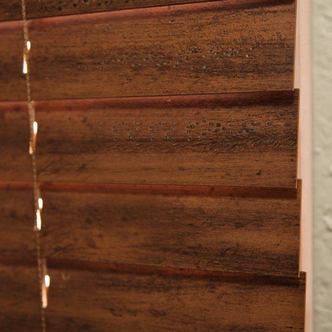Stores en bois vieilli de 2 po 7106