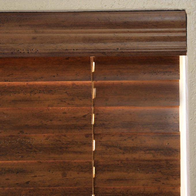Stores en bois vieilli de 2 po 7107