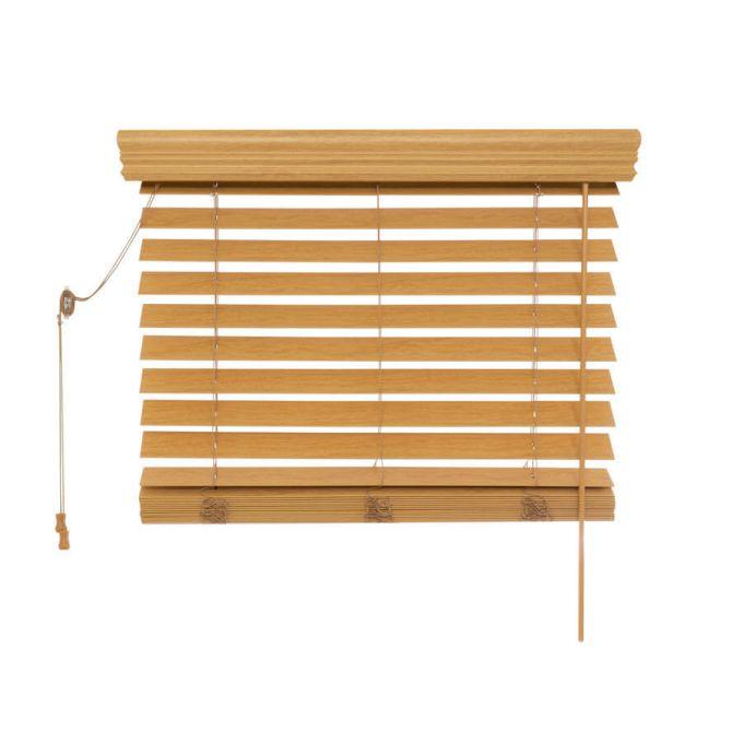 Stores imitation bois de luxe de 2 1/2 po 8822