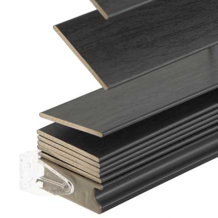 Stores imitation bois sans cordon avantage de 2 po 6951 Thumbnail