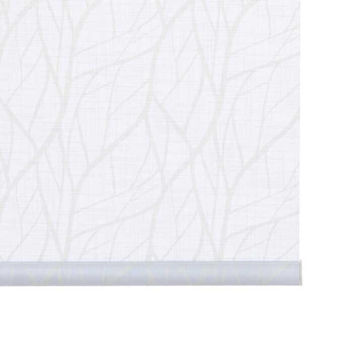 Toiles à rouleau blanches à relief Décorateur 8503