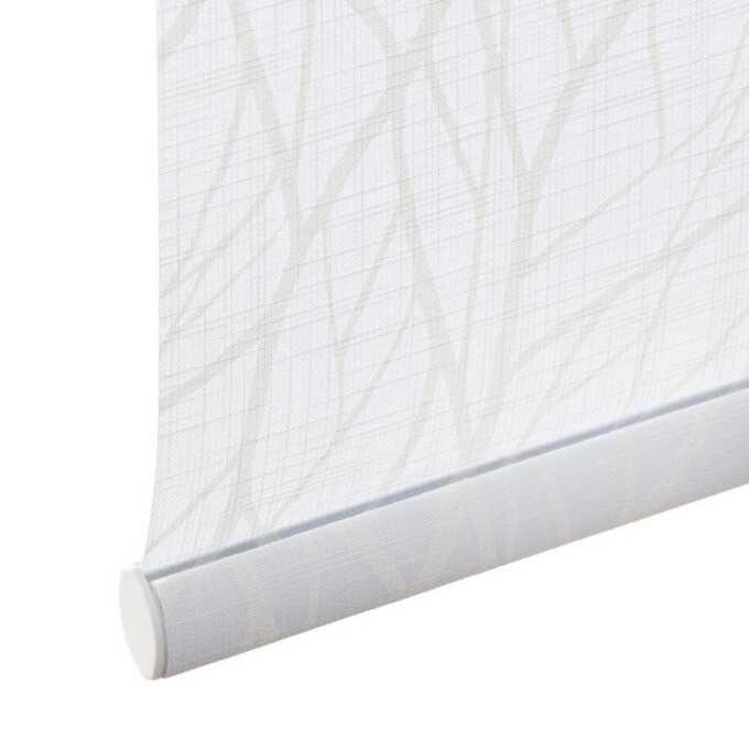 Toiles à rouleau blanches à relief Décorateur 8505