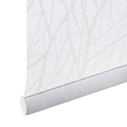 Toiles à rouleau blanches à relief Décorateur 8505 Thumbnail