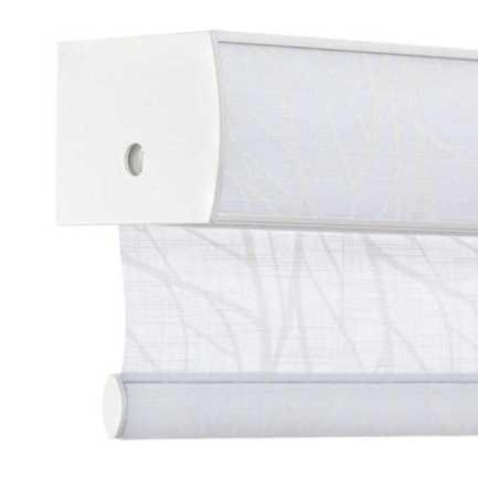 Toiles à rouleau blanches à relief Décorateur 8506 Thumbnail