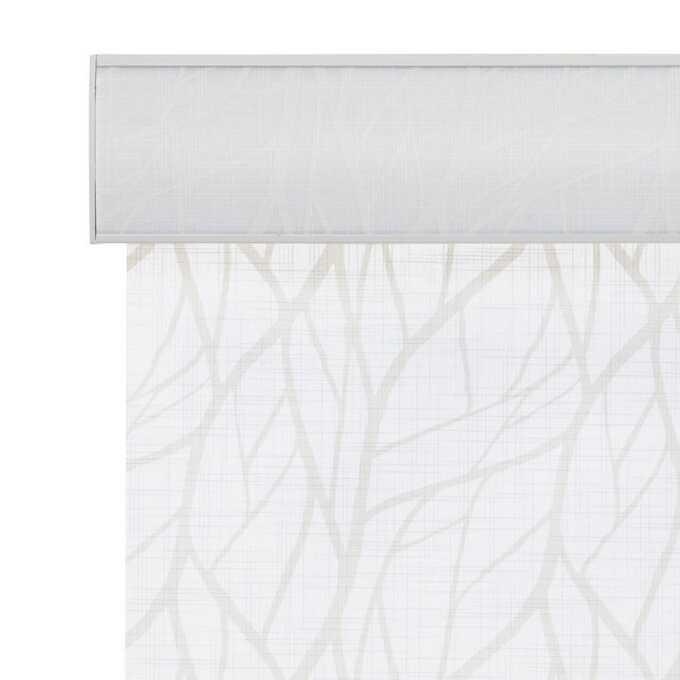 Toiles à rouleau blanches à relief Décorateur 8507