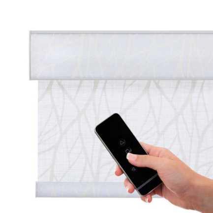 Toiles à rouleau blanches à relief Décorateur 8508 Thumbnail