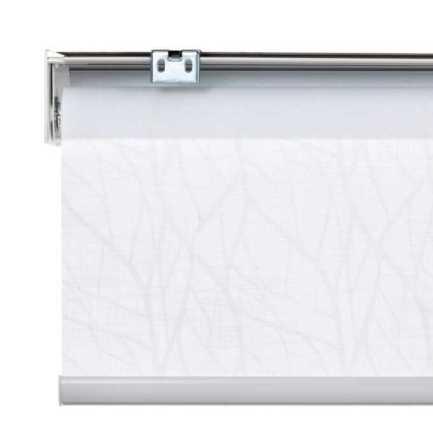 Toiles à rouleau blanches à relief Décorateur 8510 Thumbnail