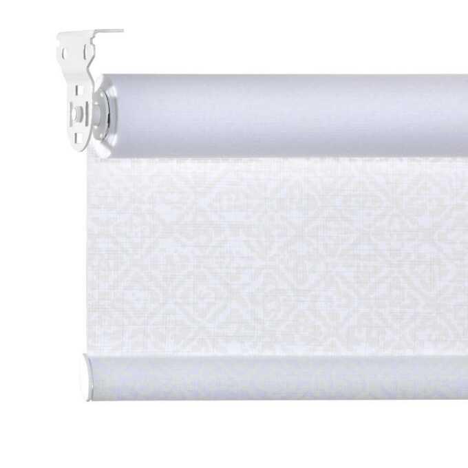 Toiles à rouleau blanches à relief Décorateur 8511
