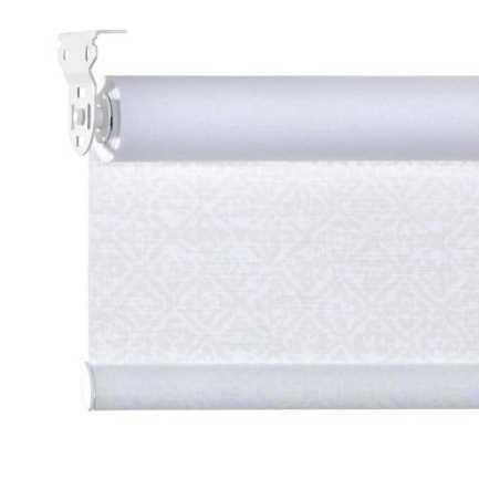 Toiles à rouleau blanches à relief Décorateur 8511 Thumbnail