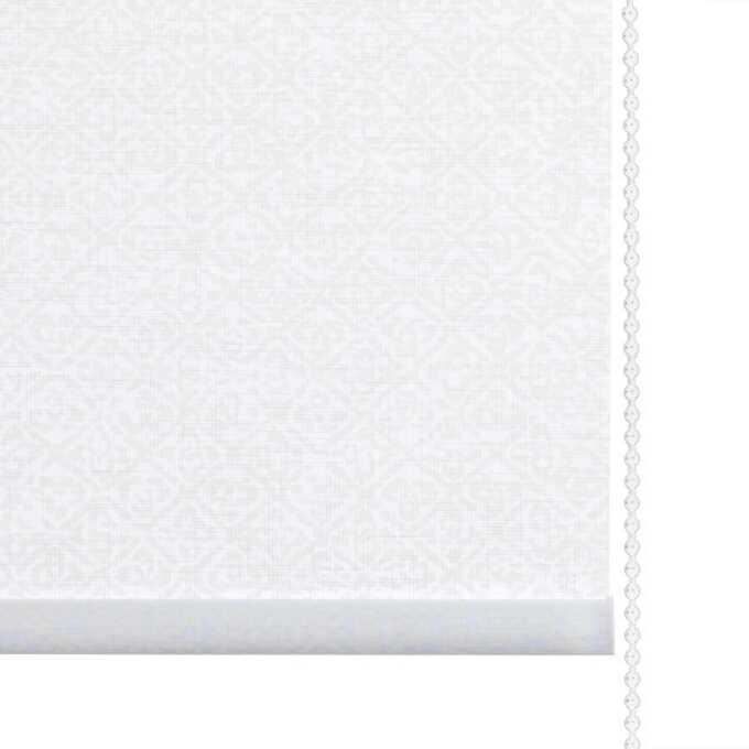 Toiles à rouleau blanches à relief Décorateur 8512