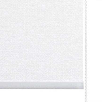 Toiles à rouleau blanches à relief Décorateur 8512 Thumbnail