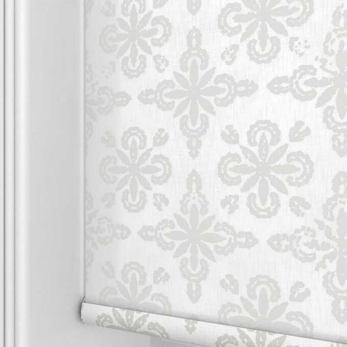 Toiles à rouleau blanches à relief Décorateur 8495