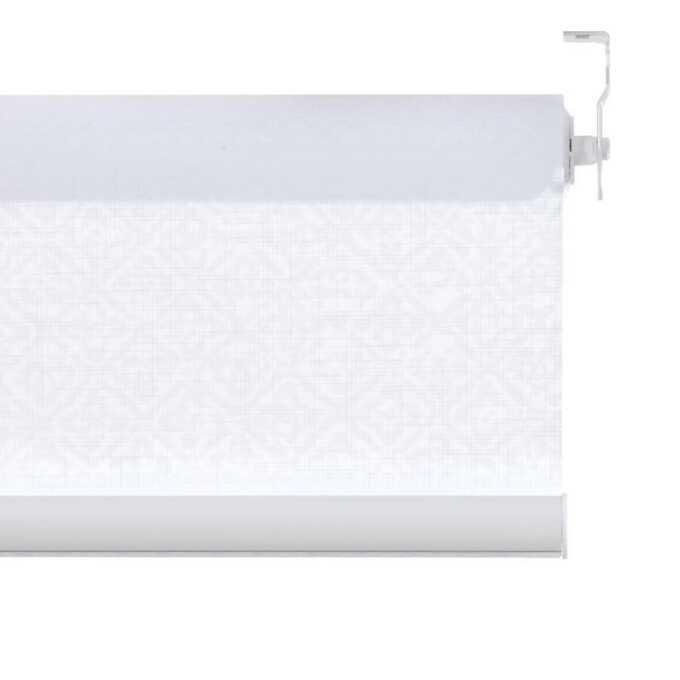 Toiles à rouleau blanches à relief Décorateur 8516