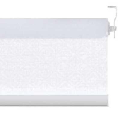 Toiles à rouleau blanches à relief Décorateur 8516 Thumbnail