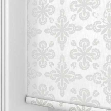 Toiles à rouleau blanches à relief Décorateur 8495 Thumbnail