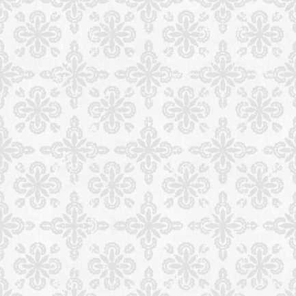 Toiles à rouleau blanches à relief Décorateur 8496 Thumbnail