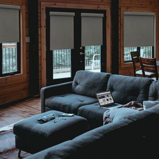 Toiles à rouleau noircissante en tissu de luxe 4202 Thumbnail