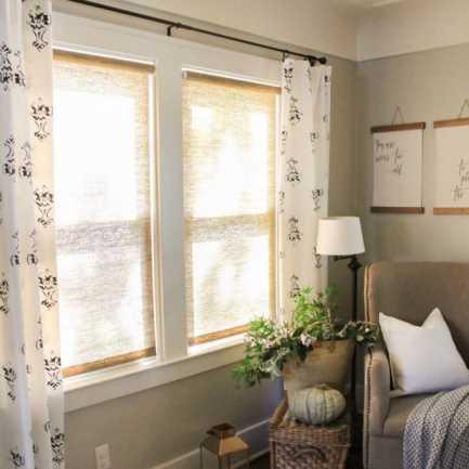 Toiles à rouleau tissées filtres de lumière Décorateur 7686 Thumbnail