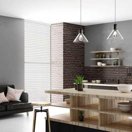 Toiles diaphanes horizontales 3 po de luxe à filtre de lumière 4151 Thumbnail