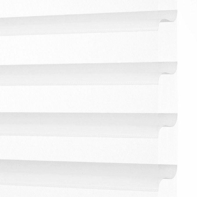 Toiles diaphanes horizontales 3 po de luxe à filtre de lumière 4152