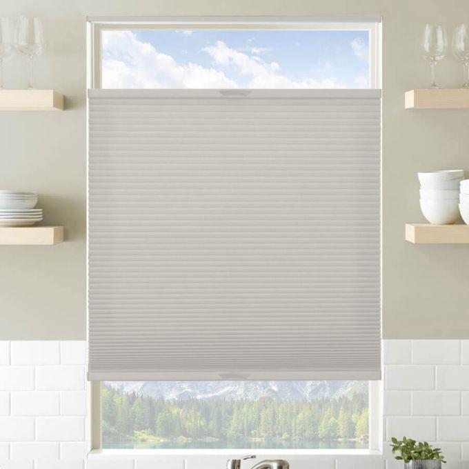 Toiles plissées descendant/ascendant sans cordon filtres de lumière décorateur plus