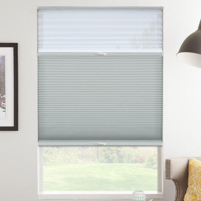 Tri-stores filtres de lumière à cellule simple décorateur de 3/4 po 5480