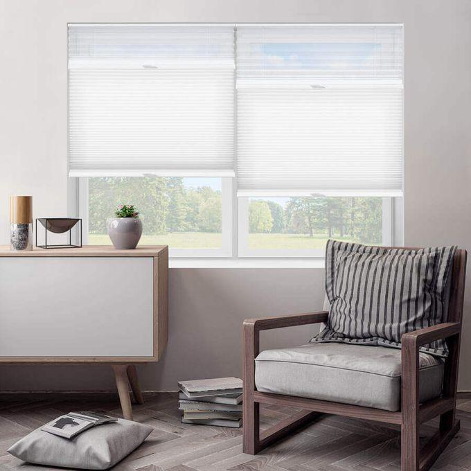 Tri-stores filtres de lumière à cellule simple décorateur de 3/4 po 5482
