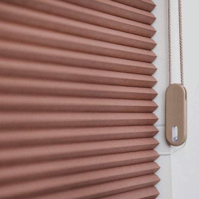 Tri-stores filtres de lumière à cellule simple décorateur de 3/4 po 5483