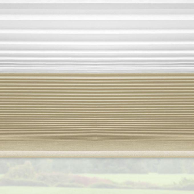 Tri-stores noircissants à cellule simple décorateur de 3/4 po 5447
