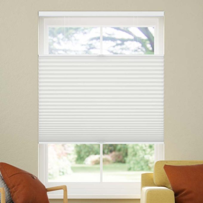 Value Blackout Cordless Top Down Bottom Up Honeycomb Shades 6709
