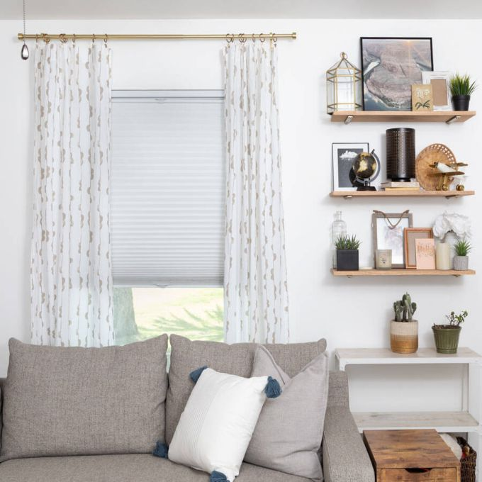 Value Blackout Cordless Top Down Bottom Up Honeycomb Shades 6795