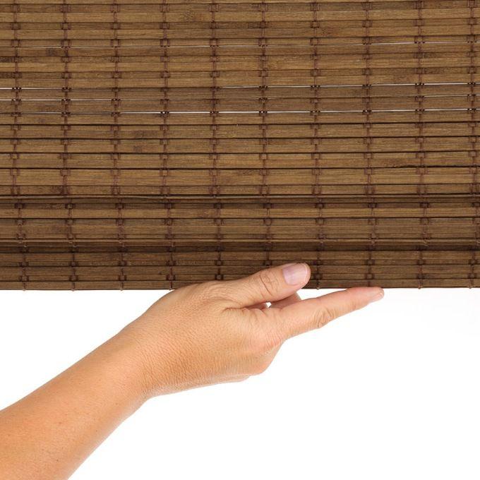 Value Cordless Woven Wood/Bamboo Shades 6824