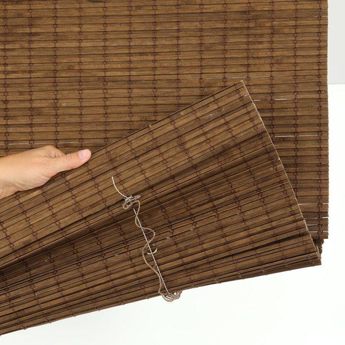 Value Cordless Woven Wood/Bamboo Shades 6825