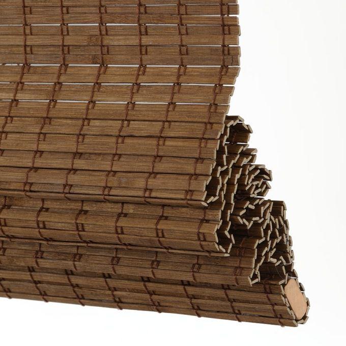Value Cordless Woven Wood/Bamboo Shades 6994