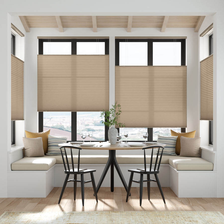 Value Light Filtering Cordless Top Down Bottom Up Honeycomb Shades 8925