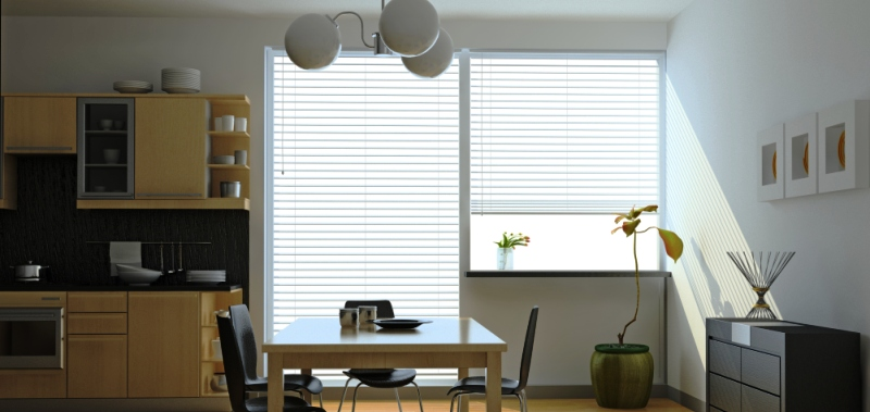 How to cut window blinds that are too wide for your window