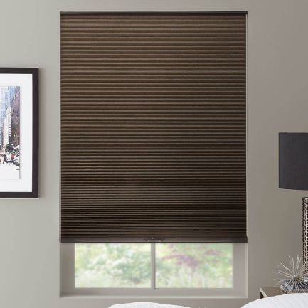 """1/2"""" Double Cell Value Blackout Honeycomb Shades"""