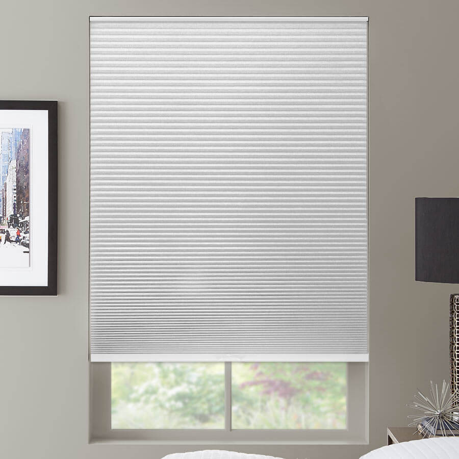 """1/2"""" Double Cell Value Blackout Honeycomb Shades 1125"""