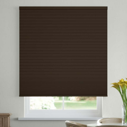 """1/2"""" Double Cell Value Plus Blackout Honeycomb Shades"""