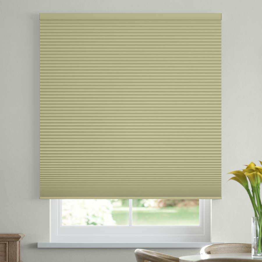 """1/2"""" Double Cell Value Plus Blackout Honeycomb Shades 1114"""
