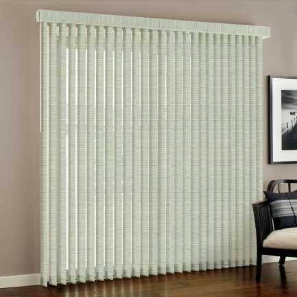 """3 1/2"""" Designer Fabric Vertical Blinds"""