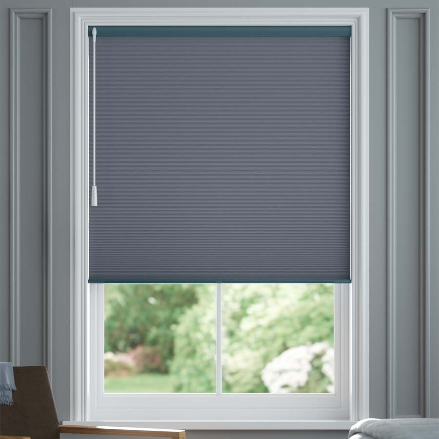 """3/4"""" Single Cell Value Plus Blackout Honeycomb Shades 1132"""