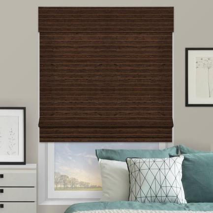 Designer Coastal Woven Wood Shades