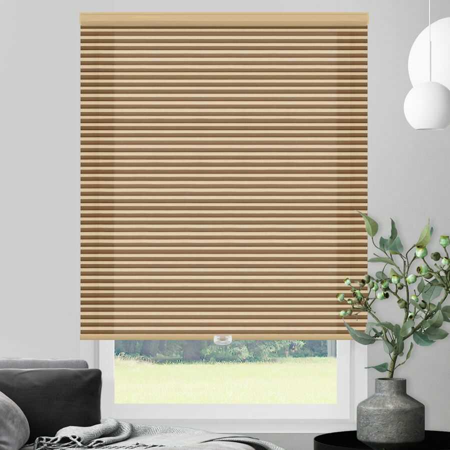 Designer Single Cell Light Filtering Honeycomb Shades 1387